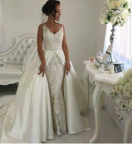 Boutique : Robe de mariee sirene à lyon et